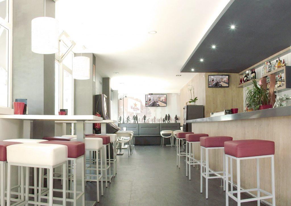 Diseño bar cafeteria