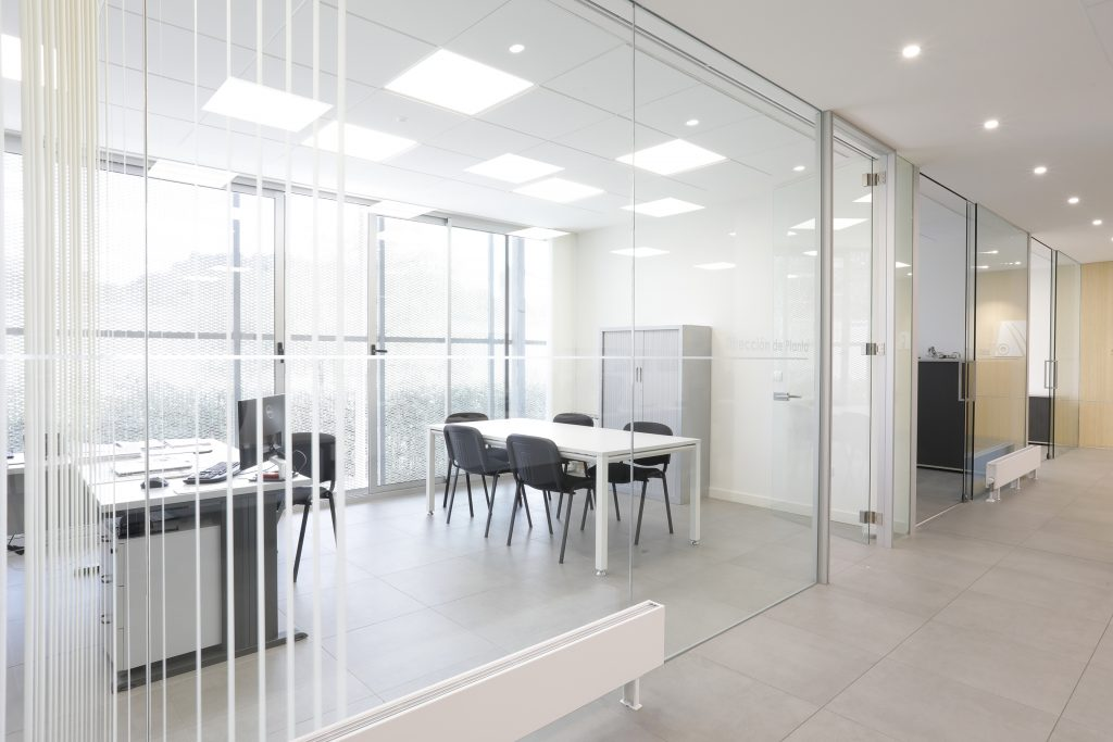 diseño oficinas santander