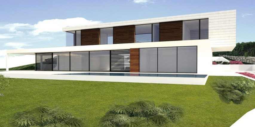 Diseño casa moderna cantabria