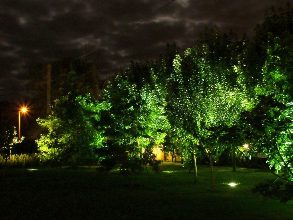 Iluminación jardín cantabria