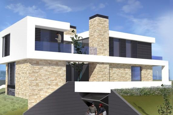 Diseño de casa liencres